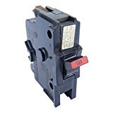 FEDERAL PACIFIC NA1P15 FPE Stab-Lok Circuit Breaker 1 Pole 15 Amp 120/240V ()