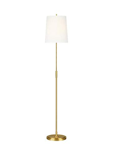 Feiss TT1031BBS1 Transitional One Light Floor Lamp from Beckham Classic Collection in Brass-Antique Finish