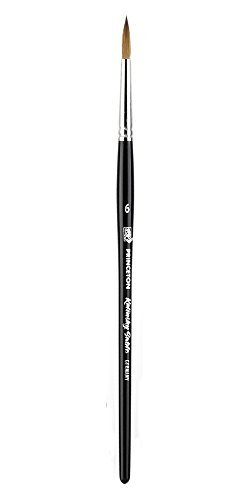 Short Handle Sable Round No. 6-Brush by Princeton