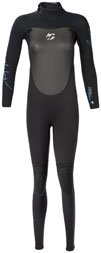 3/2mm Womens Billabong Synergy Full Wetsuit - Size 6