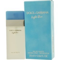 Edt D&g Light Blue Spray (D & G Light Blue By Dolce & Gabbana Edt Spray/FN118661/.8 oz/women/)