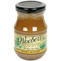 Woeber's Reserve Mustard Honey, 5 Ounce