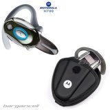 2 Pieces Value Combo Of Motorola H700 Wirless Handsfree Bluetooth Headset- Sliver + OEM Motorola Bluetooth Headset Carrying Case BLT-04 with Belt Clip