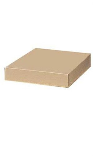 Count of 100 Apparel Boxes - Kraft - 86302 - 11½'' x 8½'' x 1⅝''