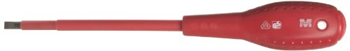 Morris Products 52018 Insulated Screwdriver, 1,000 Volt, Cushion Grip, 1/4