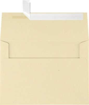 LUXPaper A7 Invitation Envelopes for 5 x 7 Cards in 80 lb. Stone, Printable Envelopes for Invitations, w/Peel and Press Seal, 1000 Pack, Envelope Size 5 1/4 x 7 1/4 (Gray)