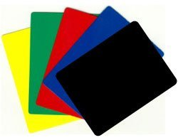 Durable Plastic Poker/blackjack Cut Cards - Set of 5 Different! (Cut Card)