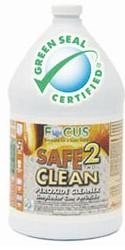 Focus Safe2Clean Peroxide Cleaner Concentrated 1 Gallon 4 Per Case