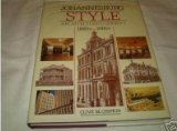 Front cover for the book Johannesburg Style: Architecture and Society 1880s-1960s by Clive Chipkin