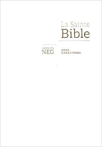 Amazon Fr Bible Neg Gros Caracteres Couverture Souple