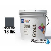 French Gray Trucolor Grout 18 Pound Bucket