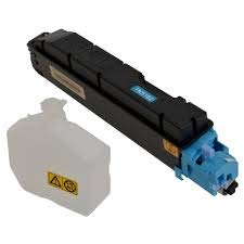 Kyocera 1T02NTCUS0 Model TK-5162C Cyan Toner Kit For use with Kyocera ECOSYS P7040cdn A4 Color Network Laser Printer, Up to 12000 Pages Yield at 5% Average - Kit Laser Toner Printer