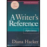 Writer's Reference, 03 MLA Update(5th, 03) by [Paperback (2004)]