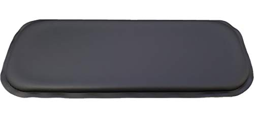 ULTRAGEL Gaming Super Comfy Arm/Elbow/Wrist Rest Gel Pads (Slim 5x12.5, Black)