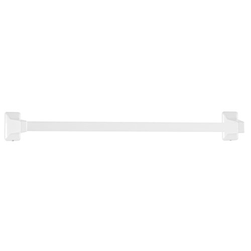 LDR 162 9608 Exquisite Premier Series Towel Bar, 24-Inch, White (Bar Towel White)
