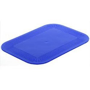 Dycem Pad - Dycem Non-Slip Large Rectangle Mat(Color=Blue)