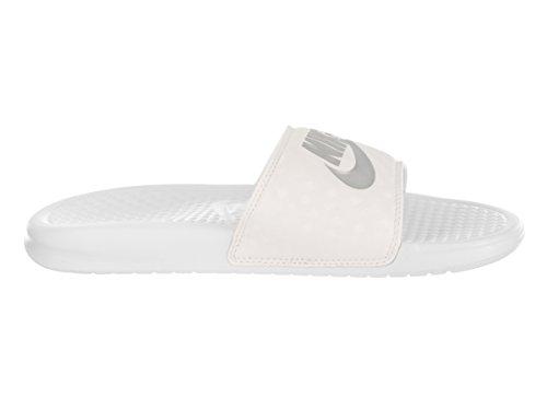 Nike 343881, Chanclas Para Mujer White