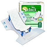 Select Booster Pad - Select Booster Pad Quantity: Pack of 25