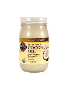 Garden of Life Extra Virgin Organic Coconut Oil -- 16 fl oz