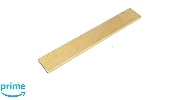 """1pc Brass Flat Bar Stock 3//8/"""" x 1/"""" x 6/"""" C360 Extruded Rectangle Metal .375/"""""""