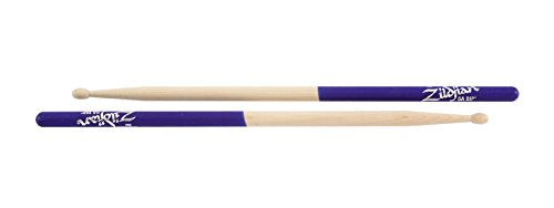 (Zildjian Purple DIP Drumsticks Wood 5A)