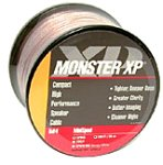 MONSTER CABLE XPNWMS30 30' MiniSpool Speaker Wire in White (Discontinued by Manufacturer)