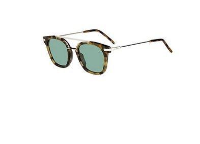 New Fendi Urban FF 0224/S 2IK/QT Havana Gold/Green Sunglasses
