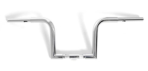 Chrome 11' Rise Ape Hangers Frisco Chubby 1-1/4' Handlebars for Harley Motorcycles Demon' s Cycle