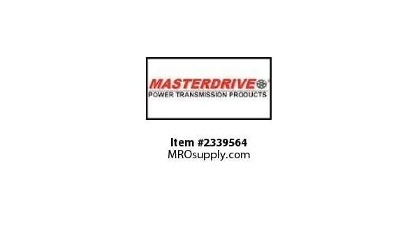 Pack of 5 MasterDrive H1-1//8-STL,