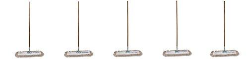 Genuine Joe GJO54101 Lightweight Dust Mop with Handle, 24'' Width (5) by Genuine Joe