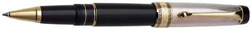 Aurora Optima - Silver Solid Cap Rollerball Pen - AU-977