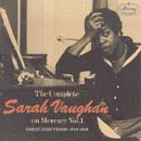 The Complete Sarah Vaughan on Mercury, Vol. 1: Great Jazz Years, 1954-1956 by Mercurry / Polygram