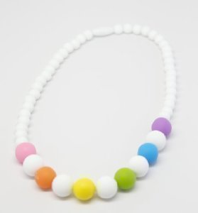 Top teething necklace for baby to wear
