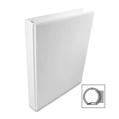 Wilson Jones : International A4 Size 4-Ring View Binder, 3in Capacity, White -:- Sold as 2 Packs of - 1 - / - Total of 2 Each