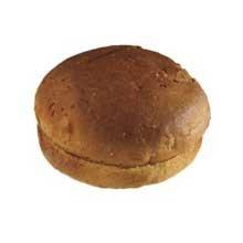 European Bakers Mountain Farm Gluten Free Hamburger Bun, 3.5 inch - 36 per case.
