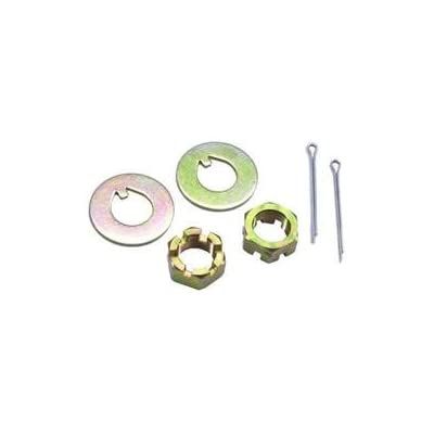 Deluxe Disc Brake Kit, Fits 1955-1964 Chevy Full-size Car, Stock Spindle: Automotive
