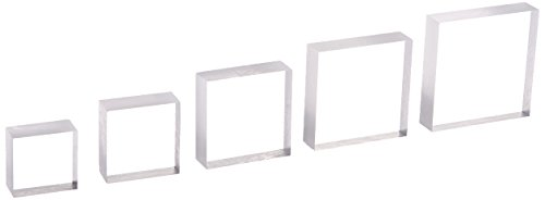 Sunday Int AH08 Krystal Acrylic Block Set of 5 -