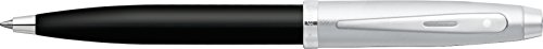 Sheaffer Gift Collection Series (Sheaffer Gift Collection Series Ball Point, Brushed Nickel Cap with Glossy Black Barrel, Nickel Plated Cap with Blue Refill (SH/9313-2))