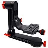 koolehaoda Gimbal Tripod Head 360° Panoramic Head with 100mm Quick Release Plate Carry