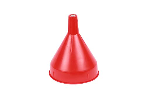 WirthCo 32002 Funnel King Red Safety Funnel with Screen - 2 Quart Capacity