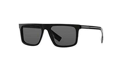 Burberry Men's 0BE4276 Black/Grey One Size (Best Burberry For Men)