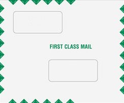 EGP Double Window Tax Return Filing Envelope