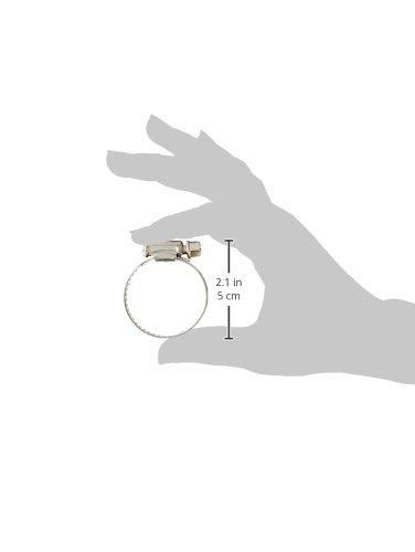 verstellbar 21/mm-38/mm Edelstahl Worm Gear Schlauchschellen 3/PCS