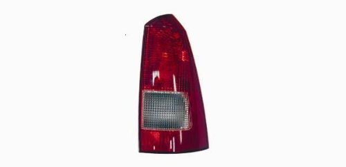 2003-2007 Compatible with Ford FOCUS BLACK HOUSING AUTOMOTIVE NEW REPLACEMENT TAIL LIGHT RIGHT HAND TYC 11-5971-91