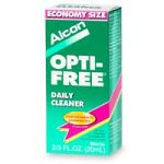 Contact Lens Cleaner (Opti-Free Daily Cleaner for Contact Lenses,  2/3-Ounce Containers (Pack of 2))