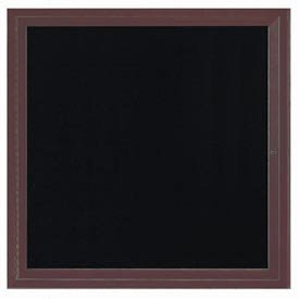 Outdoor Directory Cabinet Enclosed Wall Mounted Letter Board Frame Color: Bronze Anodized, Number of Doors: One, Size: 36