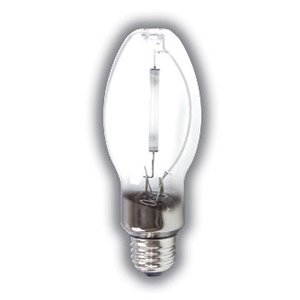 - 35W - Clear - B17 - Medium Base - LU35 - S76 - High Pressure Sodium Light Bulb