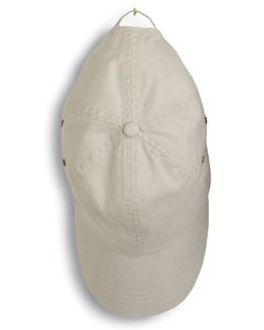 Anvil Solid Low Profile Twill Cap (Wheat) (ONE)