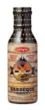 Colgin Natural Honey Barbeque Sauce 12 oz