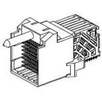 Conn Backplane HDR 150 POS 1.9mm Press Fit RA Thru-Hole Impact Tray 171575-7108
